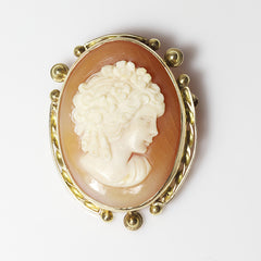 14kt Antique Cameo