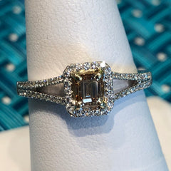 .50 Center Diamond Emerald Cut Diamond
