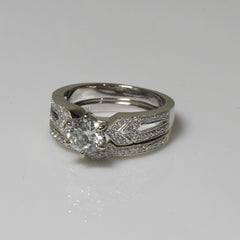 1.00ct Diamond Bridal Set