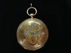 Lucie Mathey 18kt pocket watch circa 1780 - 1800