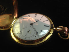 American Watch Co. Rare 18KT Antique Pocket watch