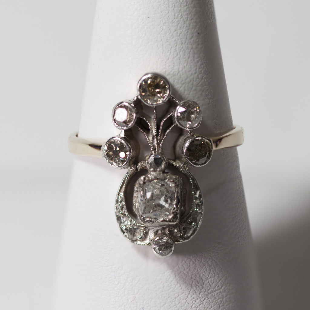 1860s Antique Diamond Ring