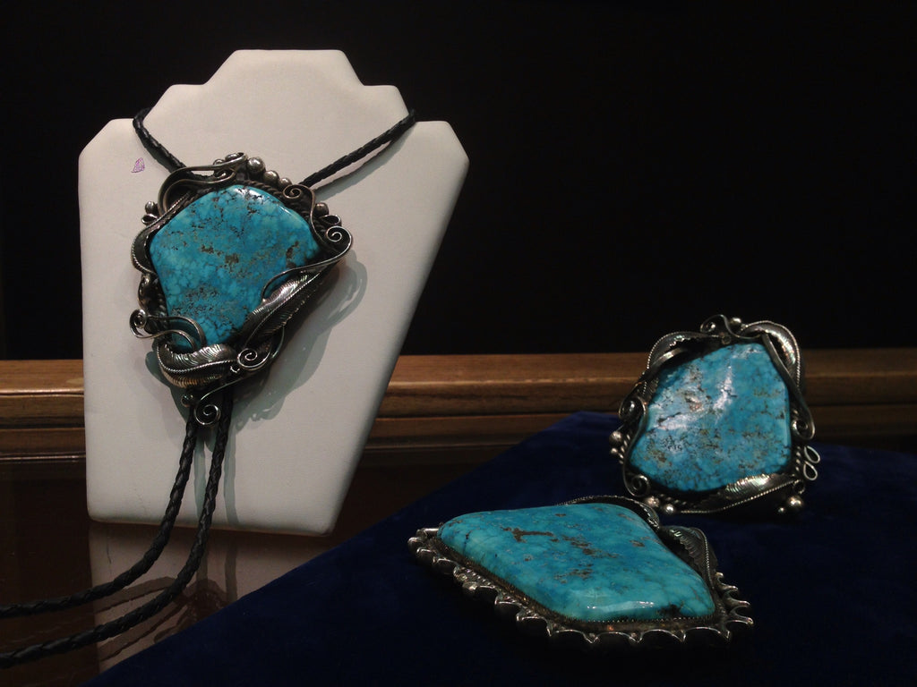 Sterling Bolo, Buckle and Bracelet Set