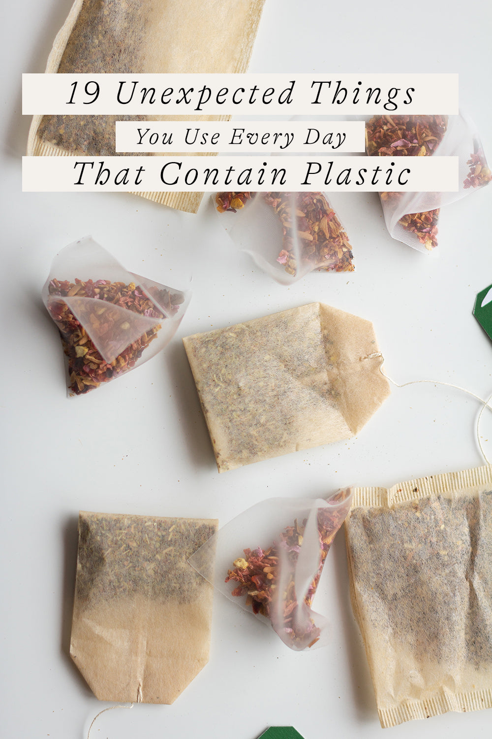19 unexpected things that contain plastic.