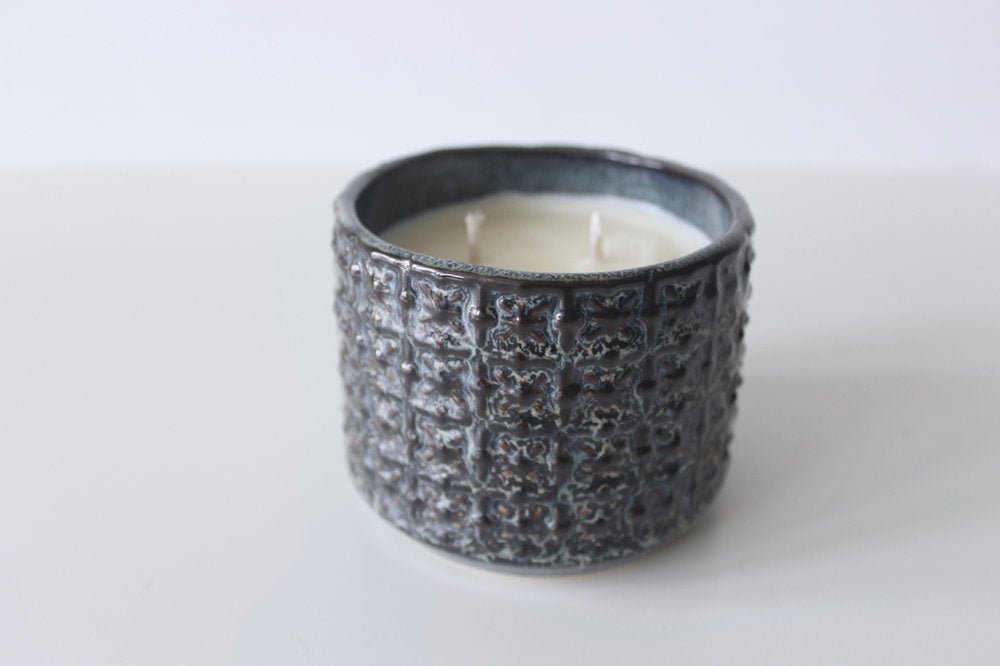 Ceramic Pot Soy Wax Candle