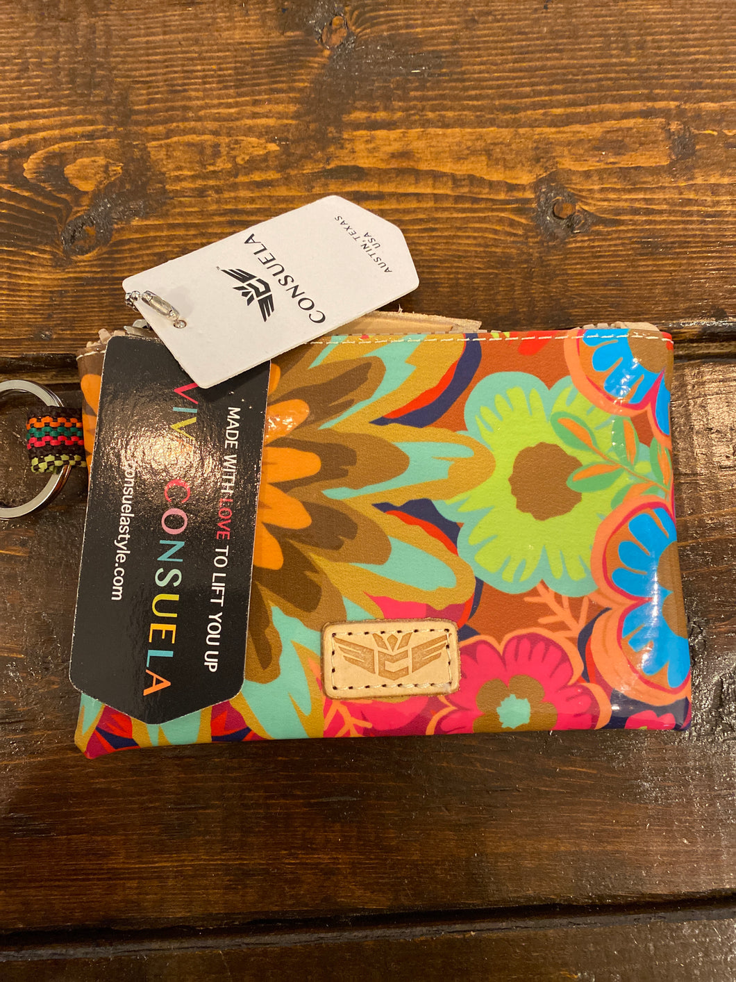 Consuela Teeny Pouch Trista Busy Floral