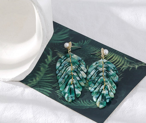 Palm Tree Earrings - Ever Ethereal