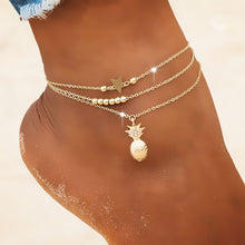 Load image into Gallery viewer, Beach Vibes Anklet - Ever Ethereal