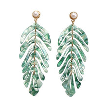 Load image into Gallery viewer, Palm Tree Earrings - Ever Ethereal