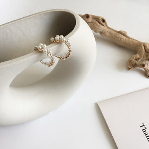 Hidden Pearl Earrings - Ever Ethereal