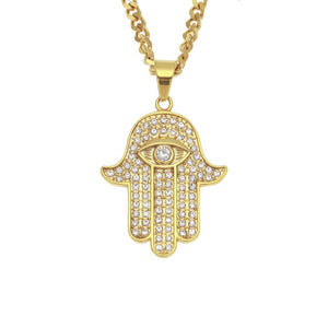 Hamsa Hand Necklace - Ever Ethereal