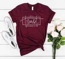 Load image into Gallery viewer, Proverbs 3:5 Tee - Ever Ethereal