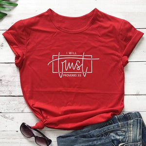 Proverbs 3:5 Tee - Ever Ethereal