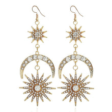 Load image into Gallery viewer, New Moon Earrings - Ever Ethereal