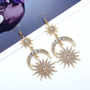New Moon Earrings - Ever Ethereal