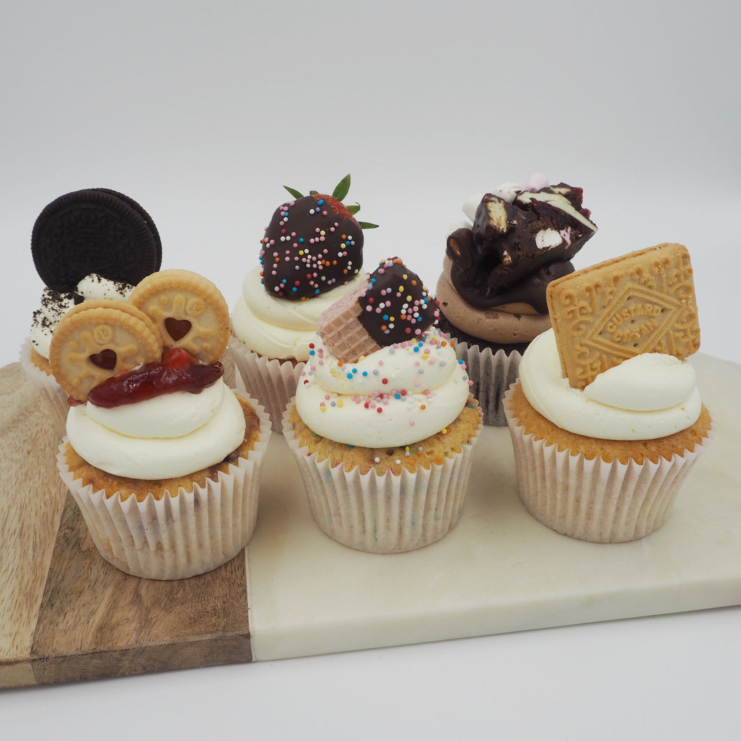 LOADED CUPCAKES - BOX OF 6