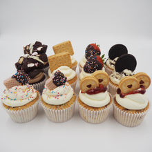Load image into Gallery viewer, LOADED CUPCAKES - BOX OF 12