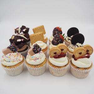 LOADED CUPCAKES - BOX OF 12