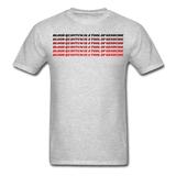 Blood Quantum Tee 2.0 - Bizaanide'ewin Beadwork & Supplies