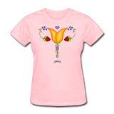Reproductive Rights Floral Soft/Curve Fit Tee - Bizaanide'ewin Beadwork & Supplies