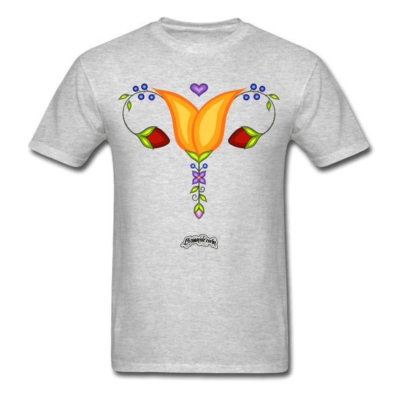 Reproductive Rights Floral Tee - Bizaanide'ewin Beadwork & Supplies