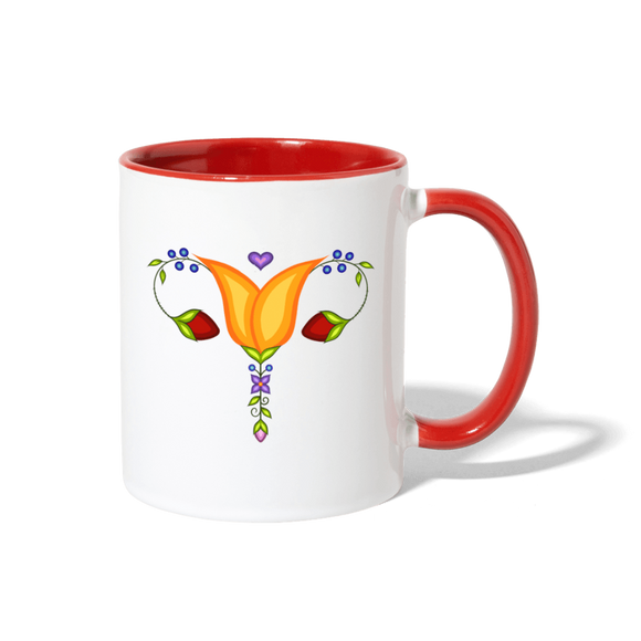 Reproductive Rights Mug - Bizaanide'ewin Beadwork & Supplies