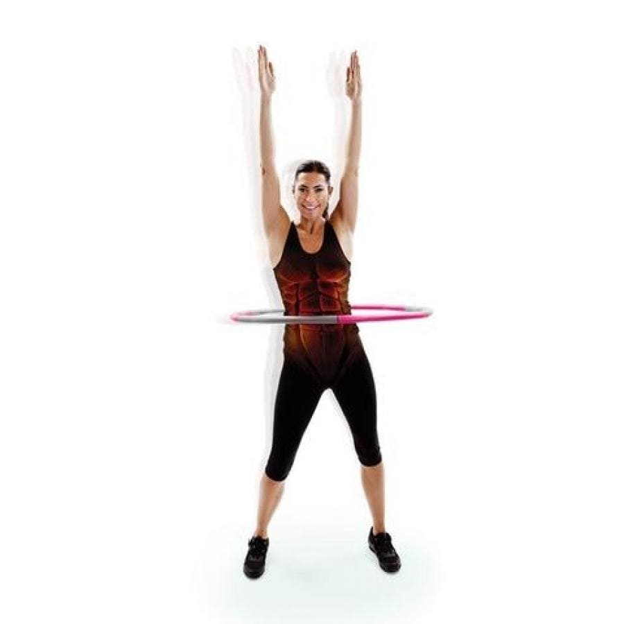 66FIT WEIGHTED HULA HOOPS - WAVE DESIGN TO BOOST CORE MUSCLE STRENGTH