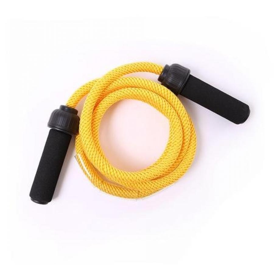66FIT WEIGHTED JUMP/SKIPPING ROPE - ADJUSTABLE LENGTH