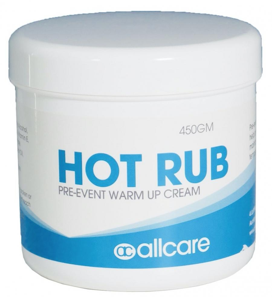 ALLCARE HOT RUB - PRE EVENT WARM UP CREAM