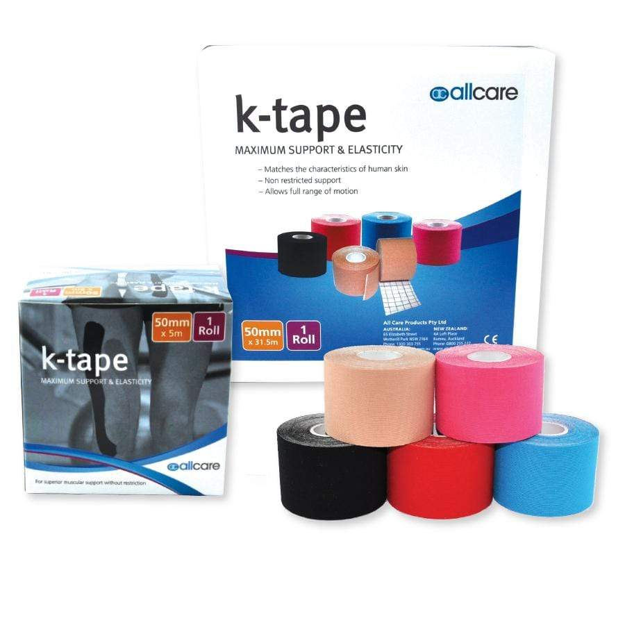 ALLCARE PREMIUM K-TAPE FOR KINESIOLOGY METHOD STRAPPING