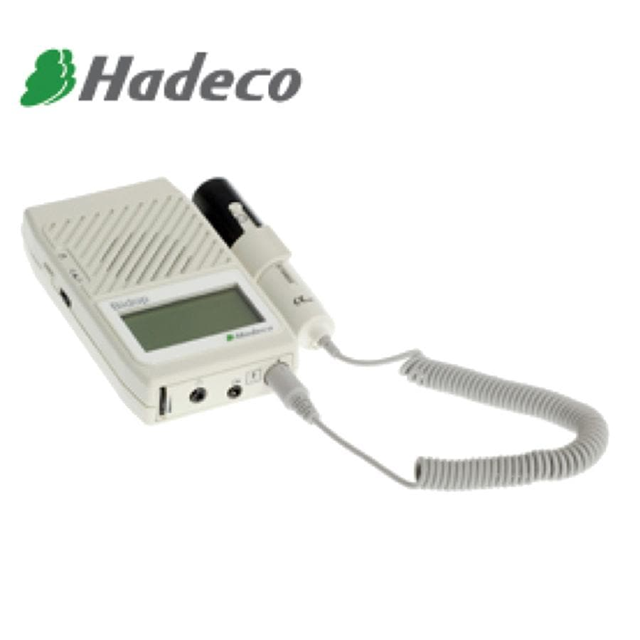 HADECO BIDOP ES100V3 BI-DIRECTIONAL DOPPLER COMPLETE WITH LCD AND 8MHZ PROBE