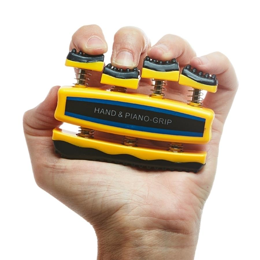 HAND GRIP EXERCISER TO DEVELOP FINGER, HAND AND FOREARM STRENGTH