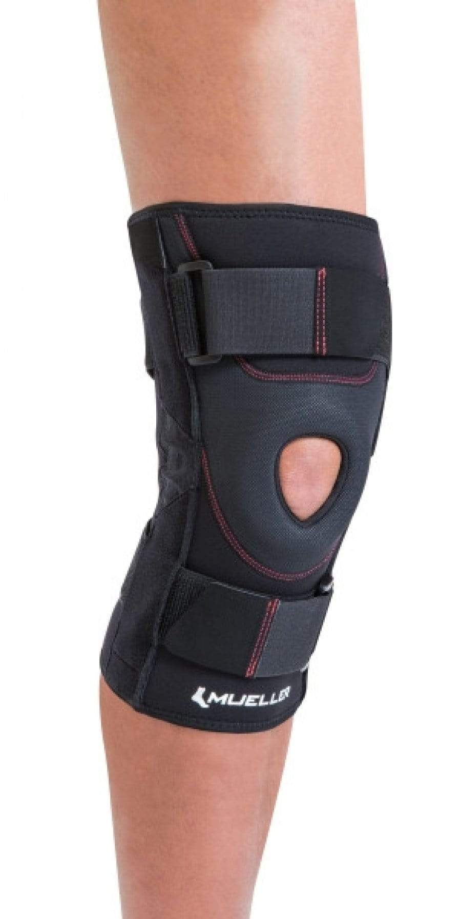 MUE5524 PREMIUM PATELLA STABILISER KNEE BRACE WITH ANATOMICALLY SHAPED BUTTRESS AND ALLOY COILED SPRINGS
