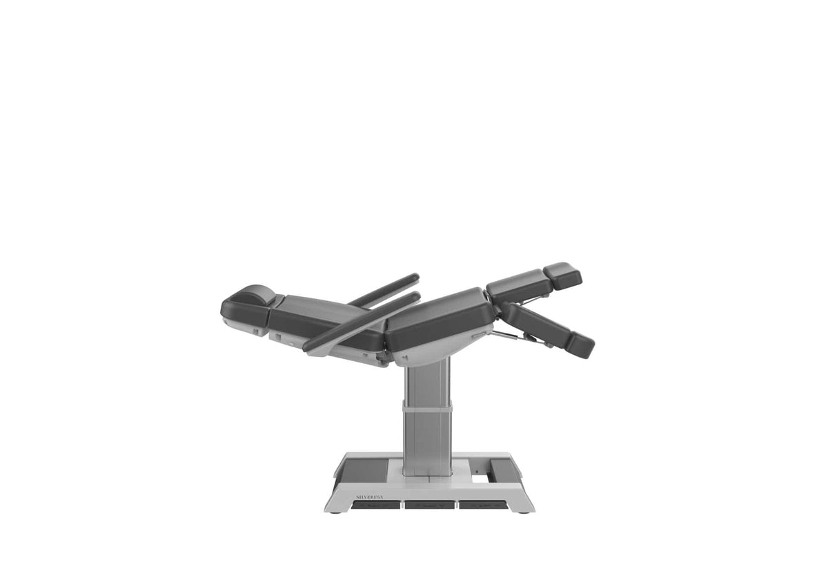 TREATMENT CHAIR LANGS - 3 MOTOR, SPLIT LEG, FACE HOLE - DARK GREY