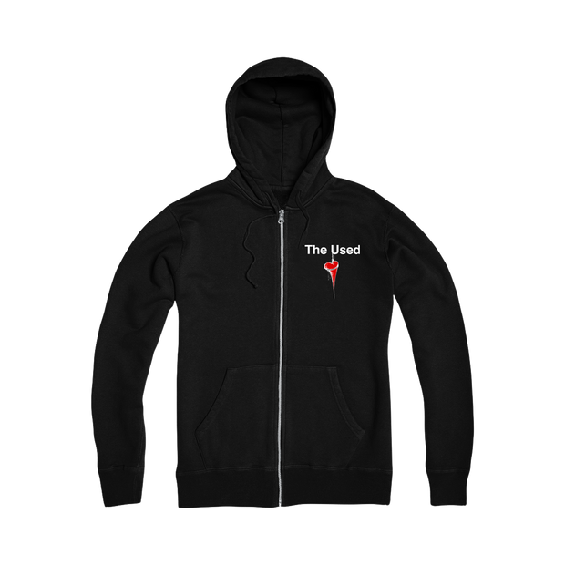 In Love And Death Zip Hoodie