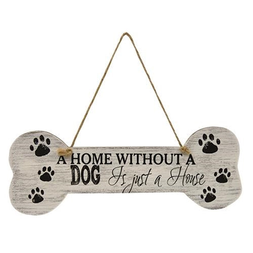 Home Without A Dog Sign
