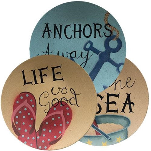 By The Sea Plates