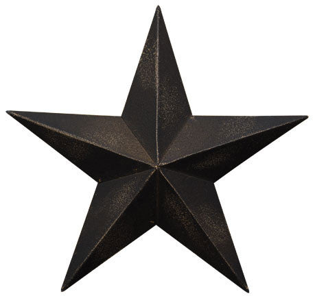 Antique Black Barn Star 12""