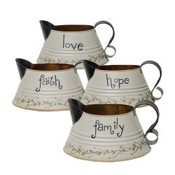 *Gray Pitcher, Asst  (hope) and (Faith)
