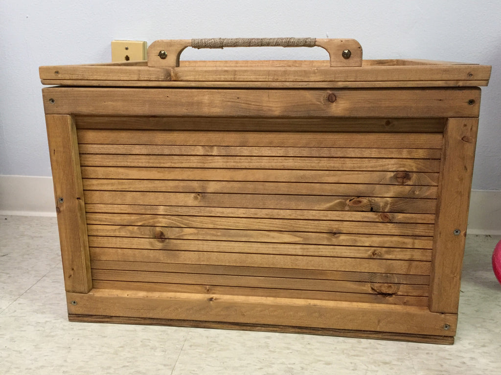 Custom Handmade Blanket Box