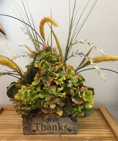 Give Thanks Flower Arrangement