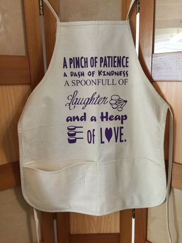 A Pinch of Patience Apron
