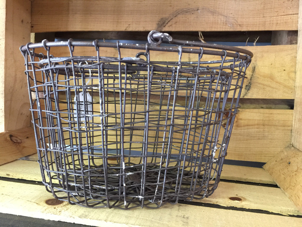 Two Wire Baskets Together