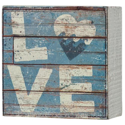 Beach Love Box Sign
