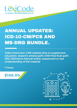 FY2021 Updates: ICD-10-CM/PCS and MS-DRG Bundle
