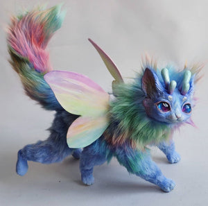 Rainbow horned fox