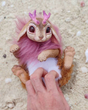 Load image into Gallery viewer, Coral jackalope