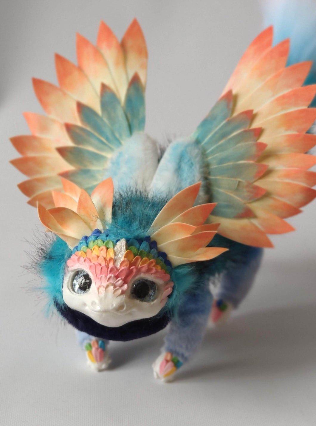 Rainbow flower dragon
