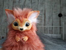 Load image into Gallery viewer, Baby fennec posable art toy