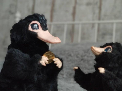 Niffler posable art doll